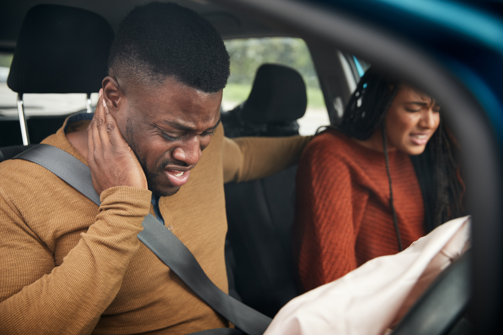 couple in a car accident